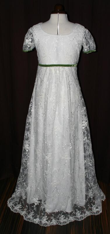 Kleid creme spitze standesamt