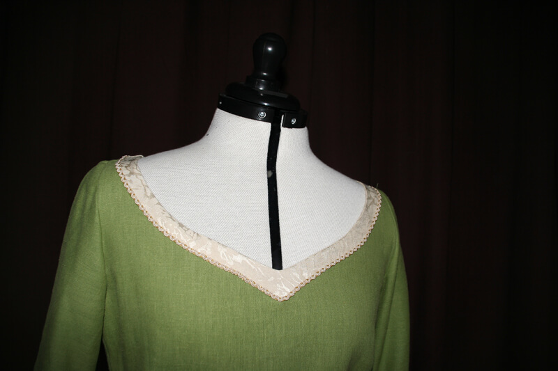 Brautkleid Mittelalter grün
