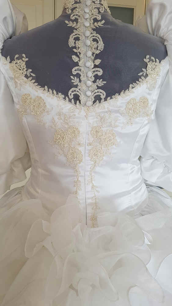 Brautkleid 80er Jahre