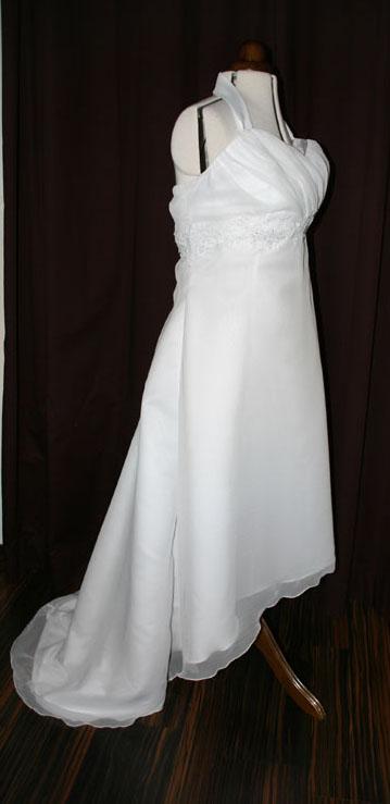 Brautkleid vorne kurz hinten lang