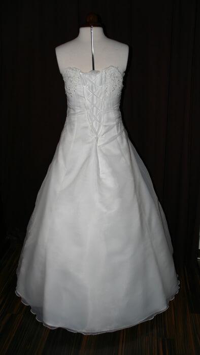 Brautkleid Rückenschnürung