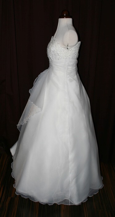 Brautkleid fluffig
