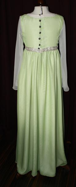 Brautkleid grün Ärmel