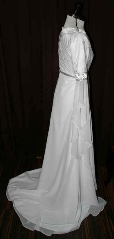 Brautkleid Elfen weiss