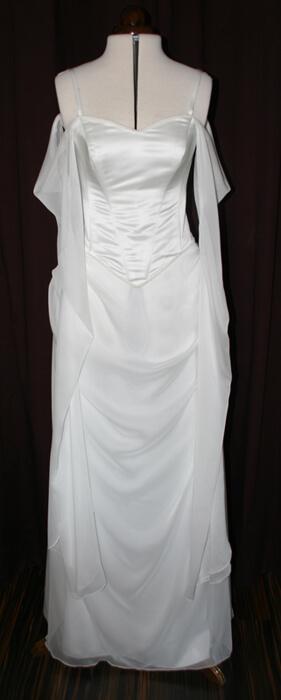 Brautkleid durchsichtige Ärmel