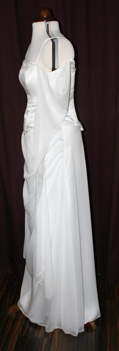Brautkleid fließend Corsage