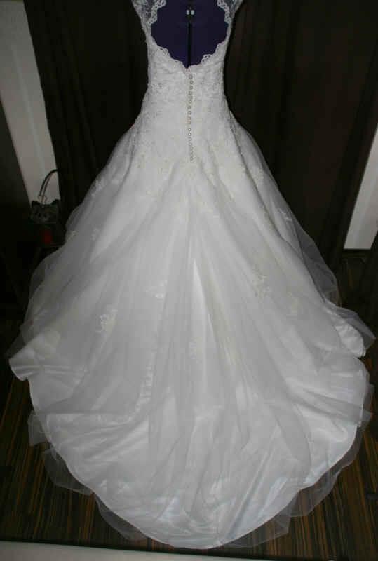Brautkleid Rücken Spitze