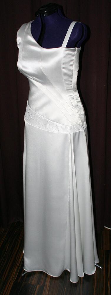 Brautkleid assymmetrisch