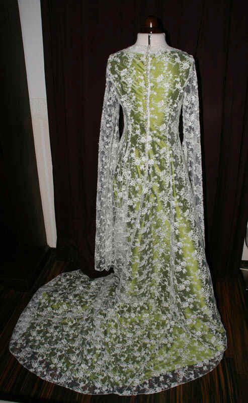 Galadriel Brautkleid grün