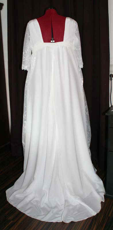 Brautkleid Schleppe