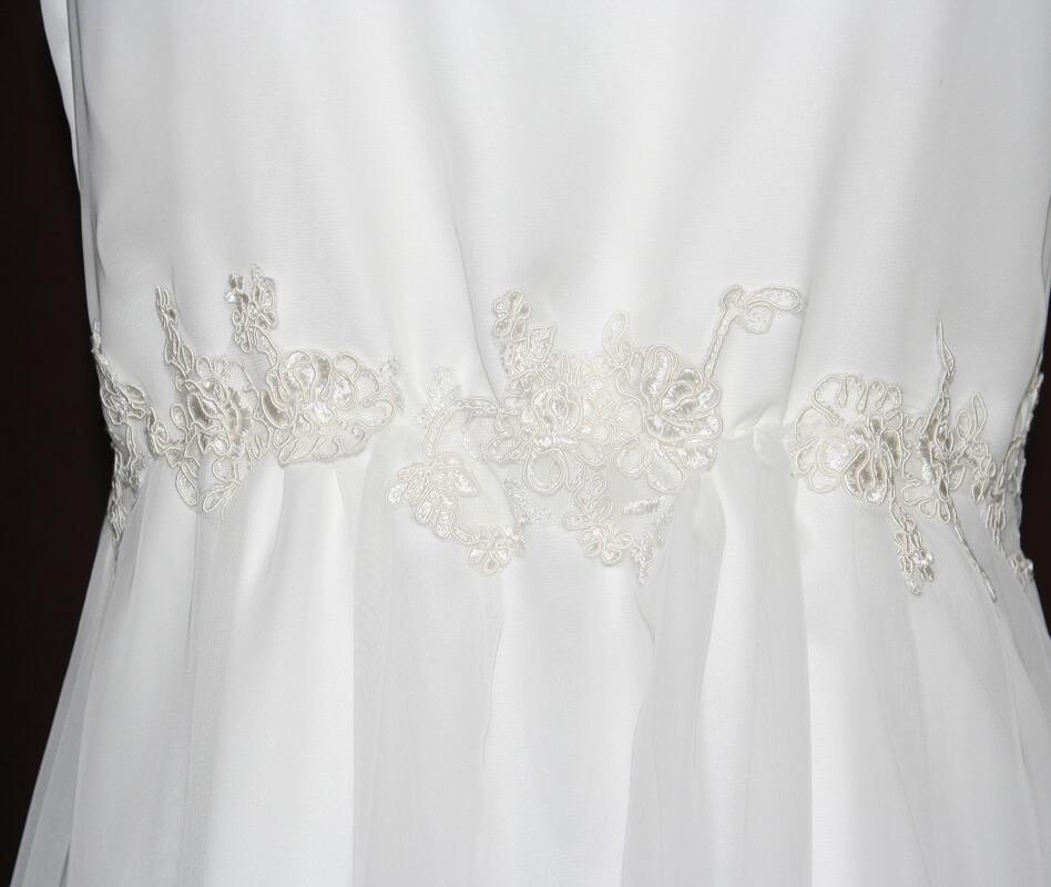 Brautkleid Spitzenverzierung