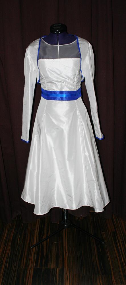 Brautkleid kurz Schneiderei