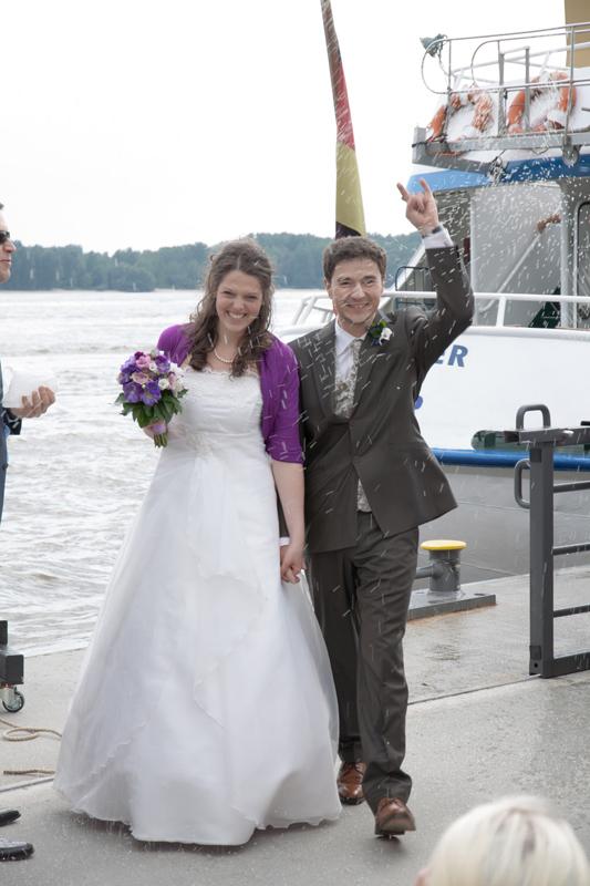 Hochzeit Hamburg Schiff