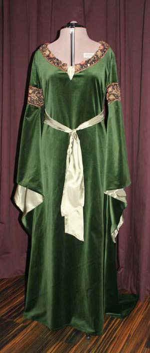 Arwen Mourning Gown grün
