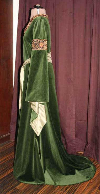 Arwen Kleid grün