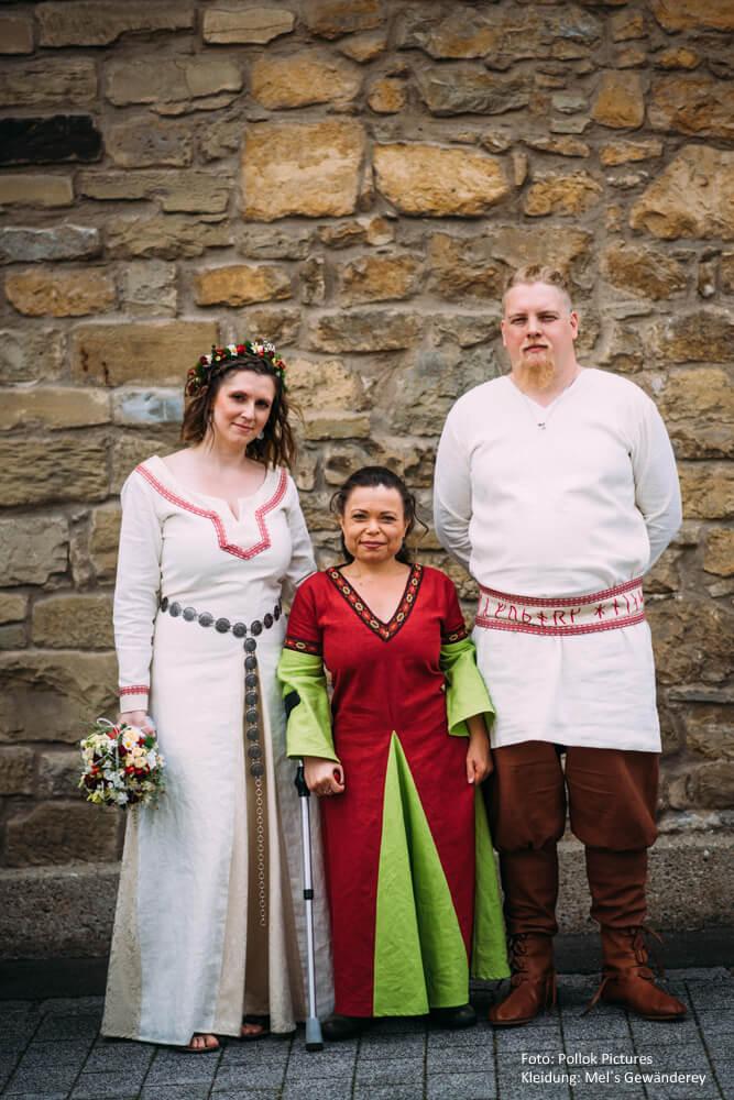 Mittelalterhochzeit Gast