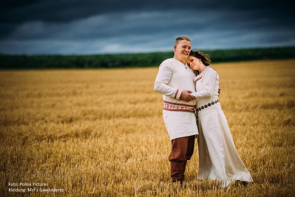Hochzeitsgewänder Mittelalter
