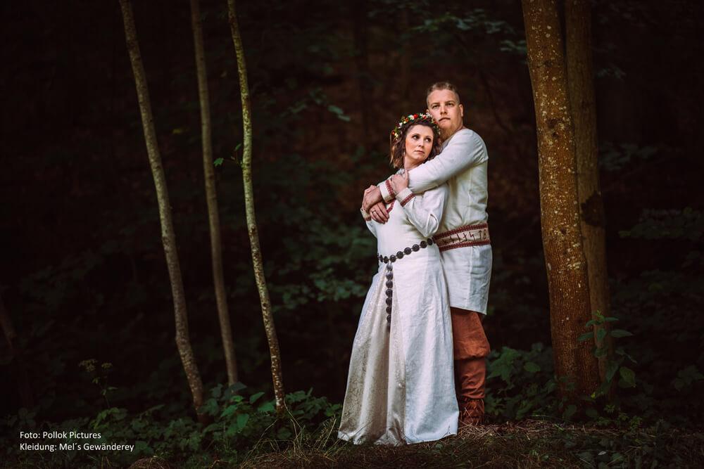 Mittelalterhochzeit Hochzeitsgewandung