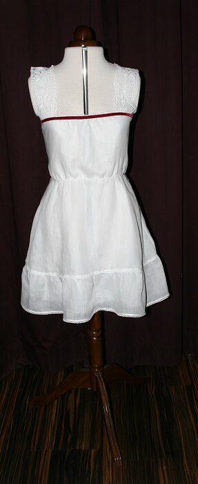 Brautkleid Baumwolle kurz