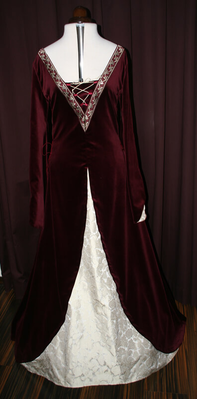 Mittelalterkleid Hochzeitskleid