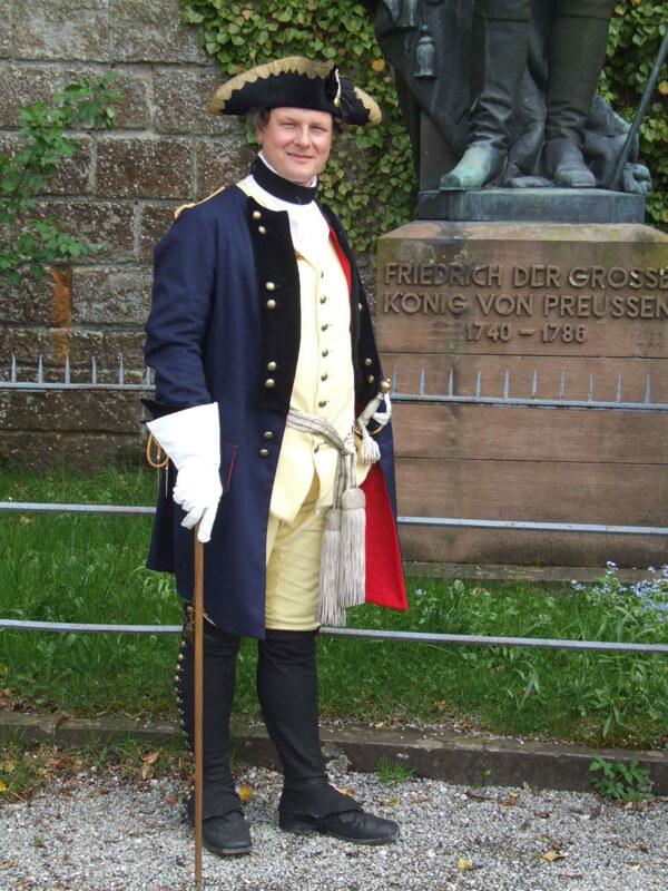 Offzier Uniform 18. Jahrhundert