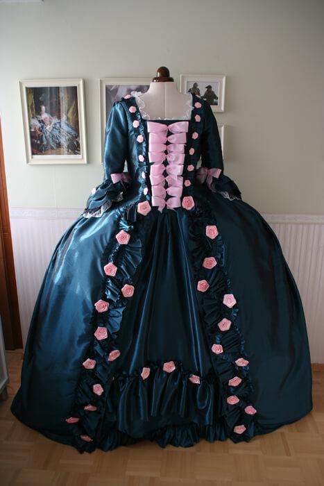 Robe a a la Francaise Madame Pompadour