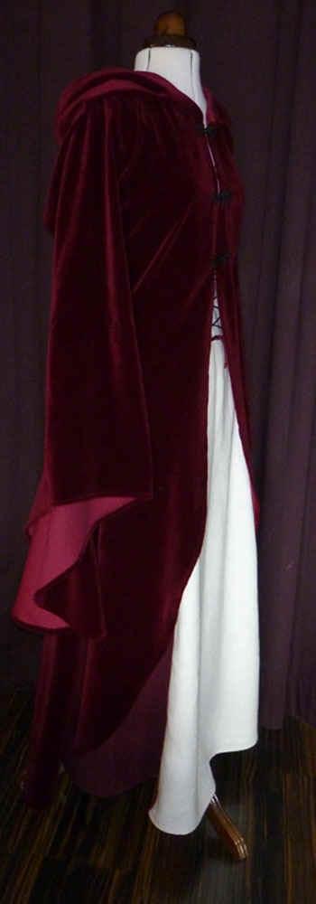 Mantel aus Samt Hochzeit