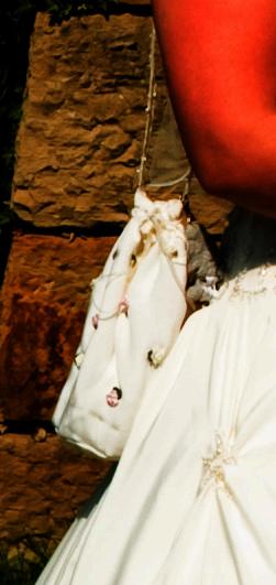 Pompadourbeutel Hochzeit