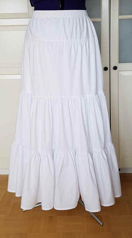 Unterrock Petticoat Baumwolle
