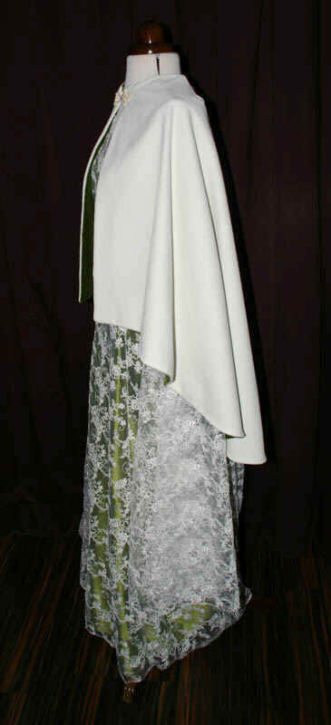 Brautkleid cape umhang