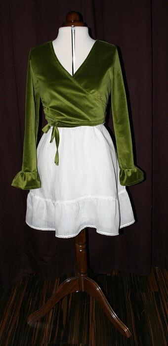 Brautkleid Jacke grün
