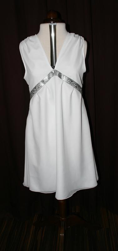 Kurzes Brautkleid weiss
