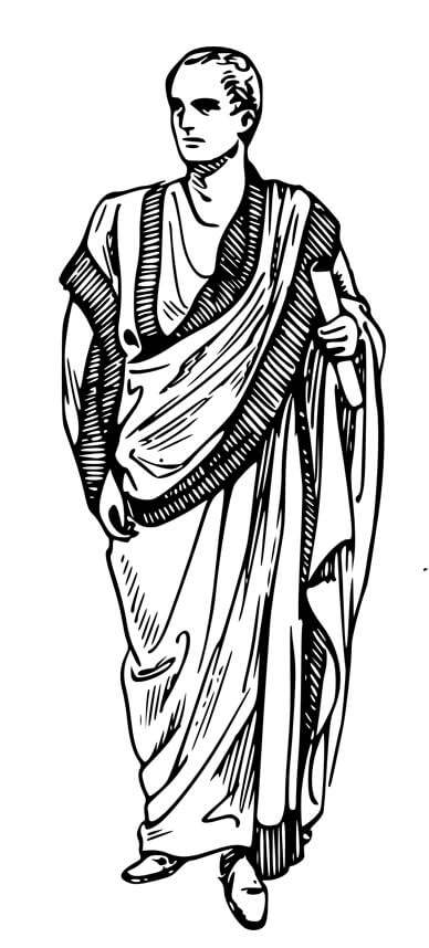 Römer Gewand